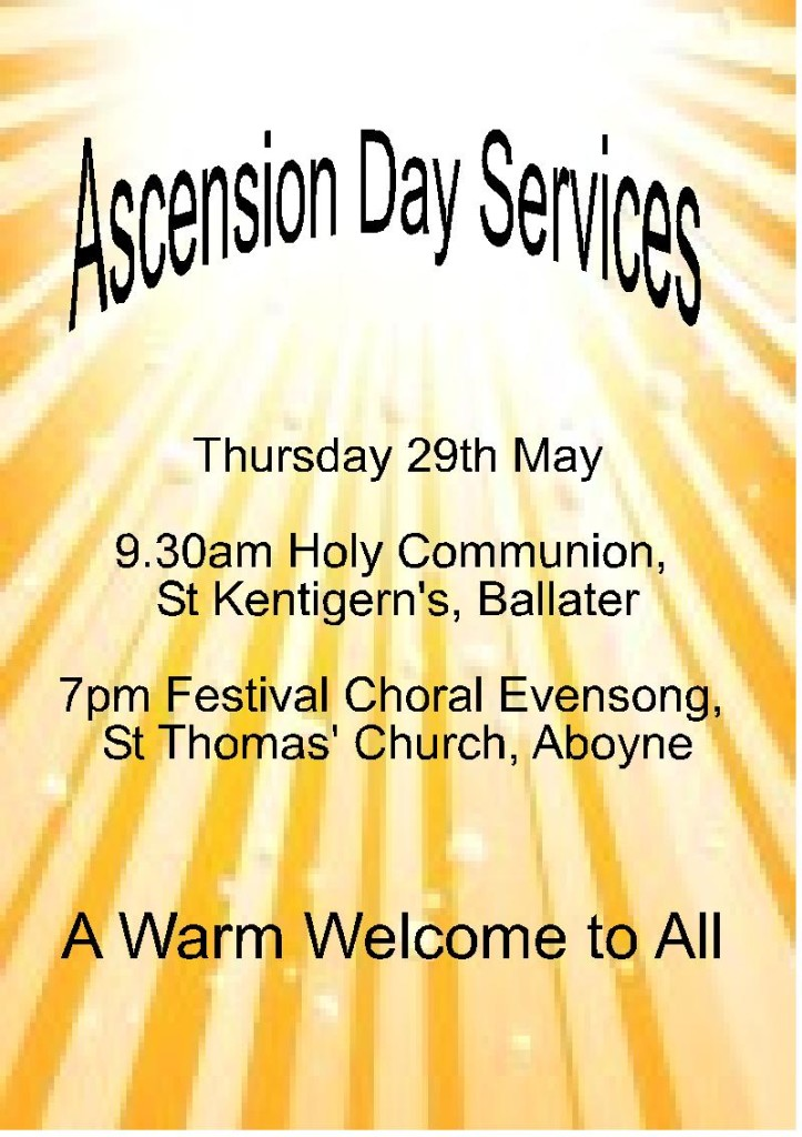 ascension day 2014 poster