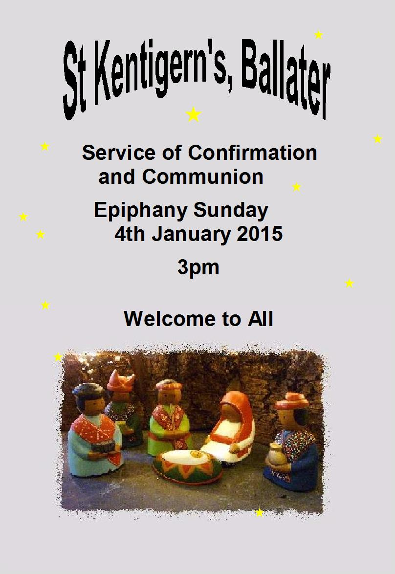 confirmation poster 2015