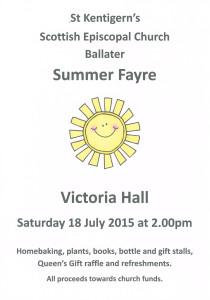 summer fayre 2015